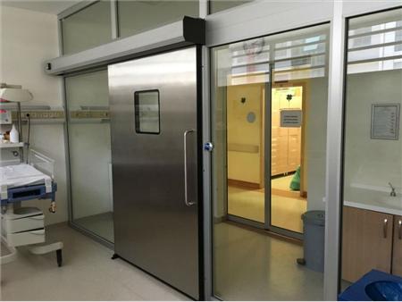 Paslanmaz Çelik Panelli Hermetik Kapılar